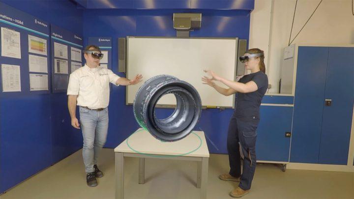 Wie Mixed Reality die betriebliche Ausbildung verändern kann » Holographic